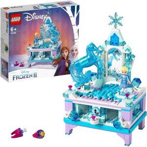 LEGO 41168 冰雪奇缘2首饰盒套装7.5折 圆一个公主梦
