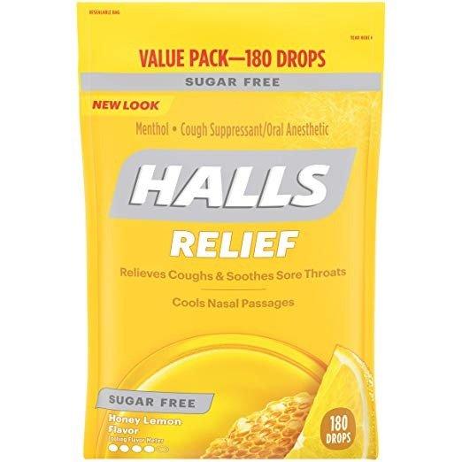 蜂蜜柠檬止咳润喉糖 180颗