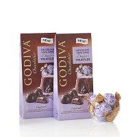 Godiva 熔岩蛋糕夹心巧克力 19粒装 2袋