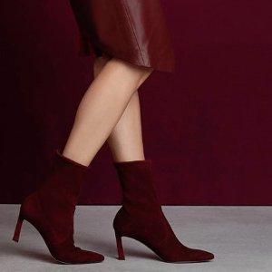 低至4折 $230起收最夯踝靴Stuart Weitzman精选踝靴、短靴热卖 秋冬必备