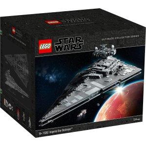 最高立减$40独家:LEGO 星战 UCS级帝国歼星舰 和 新款AT-AT 两款热卖