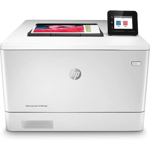 LaserJet Pro M454dw 无线彩色激光打印机 自动双面打印