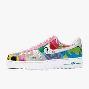 24日早上9点发售,€99.99起华人艺术家与 Nike 全新三款联名即将发售 怪诞风格你爱吗