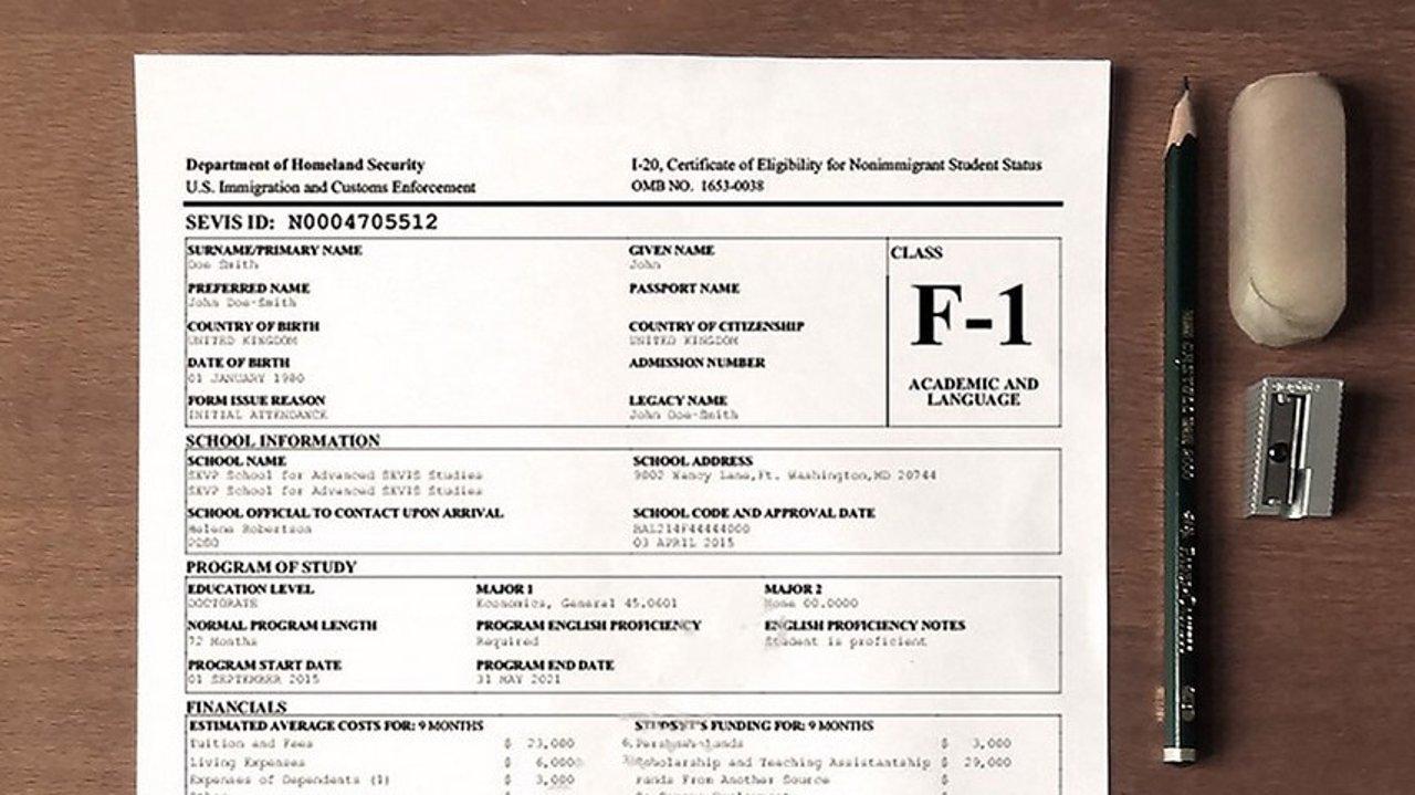 2020年最新F1签证问题注意事项!面试须知,签证指南!