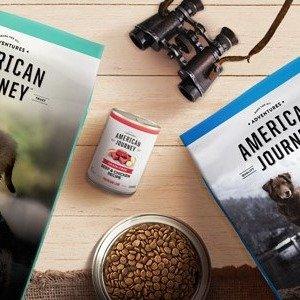 买一送一+订购额外9折American Journey 狗粮零食折上折热卖