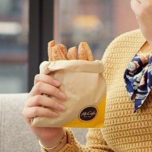 From $ 1New Release: Donut Sticks @ McDonald's