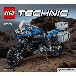$70.4Lego 42063 乐高科技系列宝马摩托车