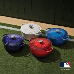 Le Creuset X MLB限量系列珐琅铸铁锅 7.25夸脱