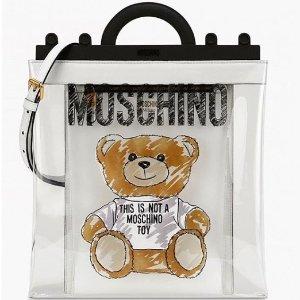 低至7折 £414收封面同款小熊包包Moschino 私密大促开始 精选美包等你挑选