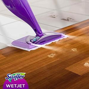€35入套装 更高效更干净Swiffer新品蒸汽拖把 持久湿润 消毒杀菌 适合所有地板材质