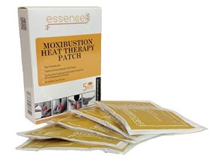 Moxibustion Natural Heating Herb Pads Heat Therapy Patches for Arthritis,Neck Shoulders, Back Pain Relief-Pack of 5