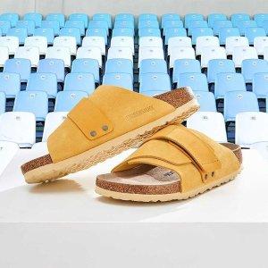 Birkenstock41-46码男士麂皮拖鞋