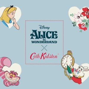 轻松享免邮,热款速抢上市:Cath Kidston x Alice in Wonderland 联名款童趣开售