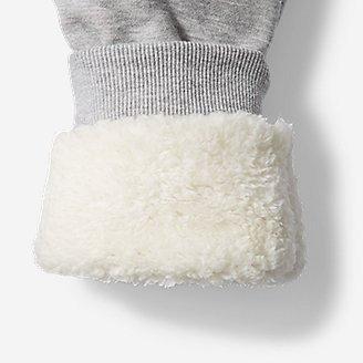 儿童羊羔绒厚实保暖裤