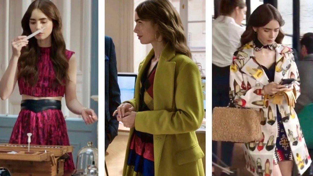 一篇深扒Emily In Paris穿搭,甜姐Lily Collins的穿搭合辑来啦!