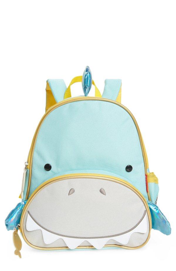 小鲨鱼双肩书包