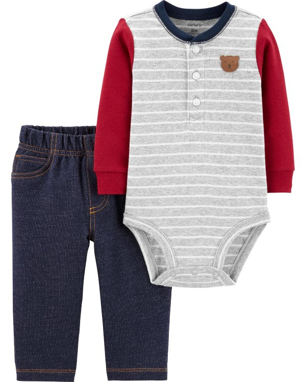 婴儿2件套