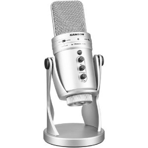 Samson G-Track Pro USB Microphone with Built-In Audio Interface