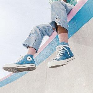 折扣区3.3折起!€24起就收!Converse 蓝色系专场上新 海军蓝、天空蓝、牛仔色系帆布鞋