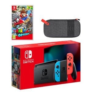 Nintendo奥德赛游戏套装 红蓝机