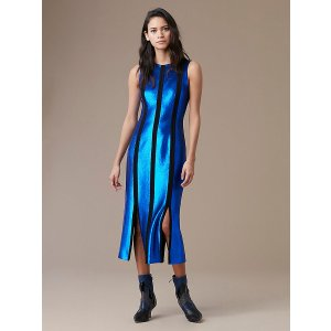 Diane von FurstenbergSleeveless Tailored Paneled 连衣裙