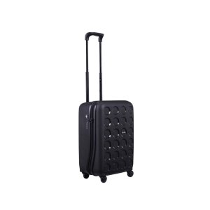 Lojel Vita Carry On 55cm Hardsided Suitcase Luggage Black