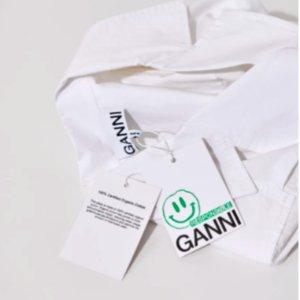 低至3折Ganni 小众品牌连衣裙 时髦女孩必备