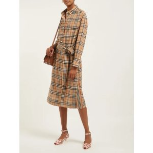 Burberry格子衬衫裙