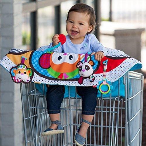 二合一婴儿外出坐垫+活动毯