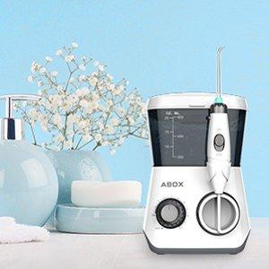 $39.99(原价$59.99)近期好价:ABOX 专业水牙线套装  口腔清洁必备