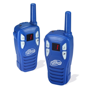 $16Little Pretender Walkie Talkies for Kids, 2 Mile Range, 3 Channels, Built in Flash Light