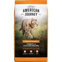 American Journey 火鸡鸡肉味无谷猫粮 12lb