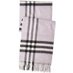 $440 (官网标价$720)限今天:BURBERRY GIANT ICON 羊绒围巾 多色可选