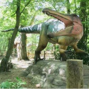 $31.2(原价$39)还有动物哦Dinos and Friends恐龙公园开放啦 了解有关地球过去的更多信息