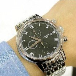5f3ef7ee53d TISSOT Carson Automatic Chronograph Men's Watches 2 styles T0854271101100 &  T0854271105300