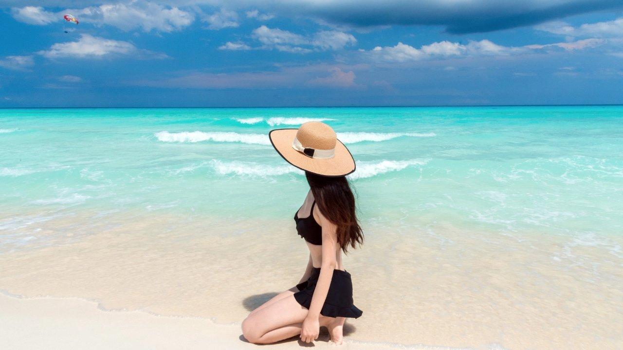 北美的后花园,拥有加勒比海蓝的坎昆美丽海岸线