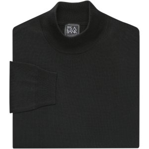 2 for $49Traveler Collection Merino Wool Mock Neck Sweater - Big & Tall - Traveler Sweaters | Jos A Bank
