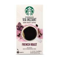 VIA 法式深度烘焙速溶咖啡 8条装