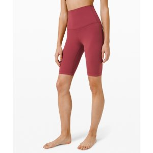 LululemonAlign Super High Rise Short 10