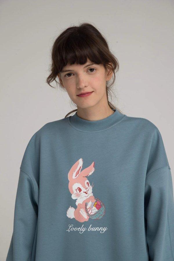 Lovely Bunny Crewneck 卫衣