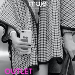 1折起 短裙£20 连衣裙£34最后一天:Maje 奥莱区限时上线 超多法风、小香风单品限时冰点价