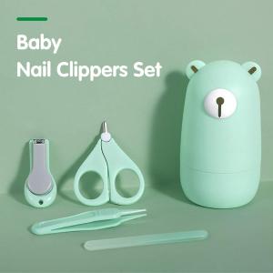 套装低至€6.99 保护婴儿娇嫩手指Mostop 婴儿指甲护理套装 包含指甲刀、小剪刀、指甲锉和镊子