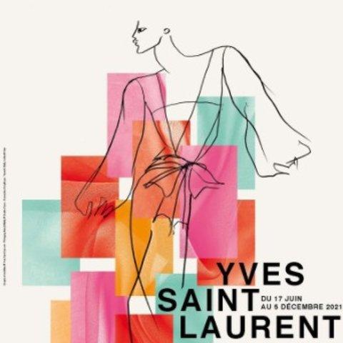 6月17日-12月5日 票价€7起【2021必看展览】Yves Saint Laurent博物馆:高级时装的幕后