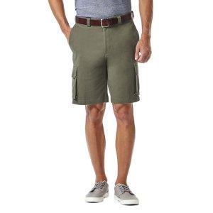HaggarStretch Cargo 男士短裤