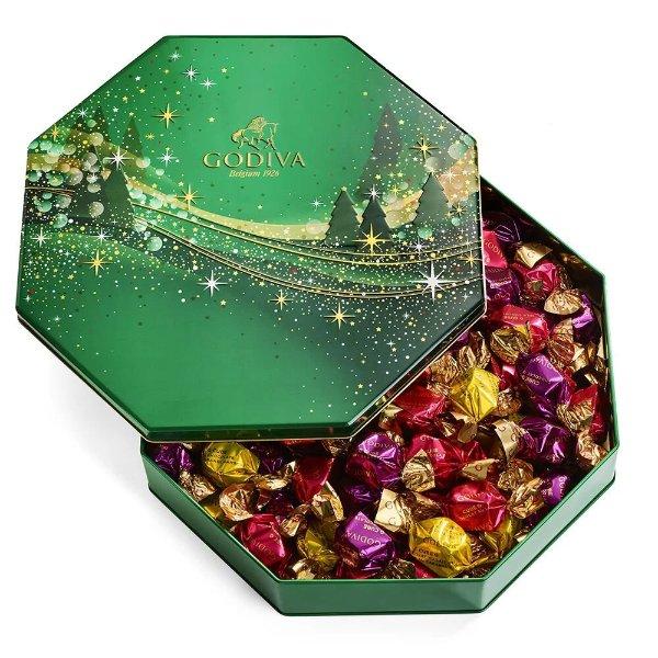 G Cube 巧克力松露圣诞礼盒 50顆