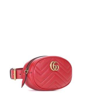 Marmont Leather Belt Bag - Gucci | mytheresa.com