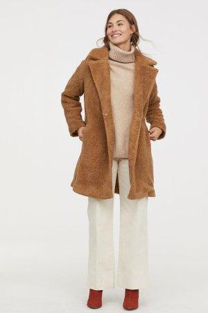 Pile Coat - Beige - Ladies | H&M US