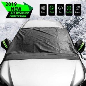 $16.13 (原价$21.98)ELUTO 汽车前挡风玻璃防霜防雪保护罩
