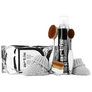 Face Essentials Brush + Cleaner Set - Artis | Sephora