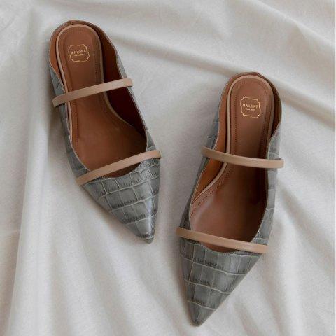 4折起+正价8.5折 £212就收穆勒鞋Malone Souliers 人气小众高跟鞋品牌 周年庆独家闪促